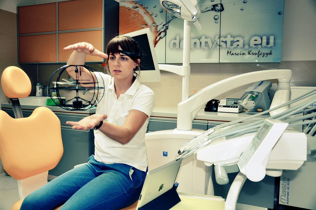 braincopter w leczeniu dentofobii